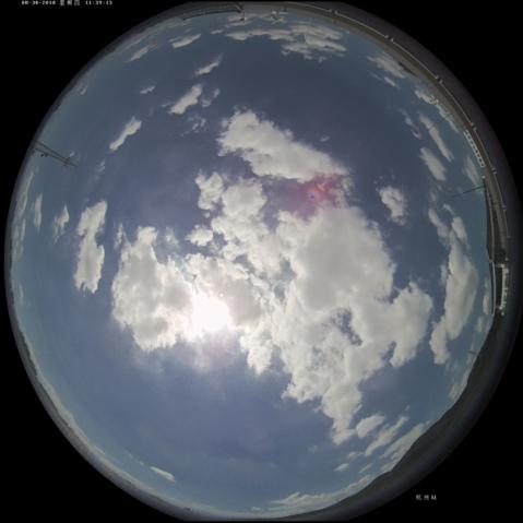 2-图像数据通过API方式调用,实时调取百度大脑EasyDL模型接口进行智能识别,返回云量、云状、天气状况、霜露等识别结果,结果信息将进入气象信息系统,供气象预报、服务使用。